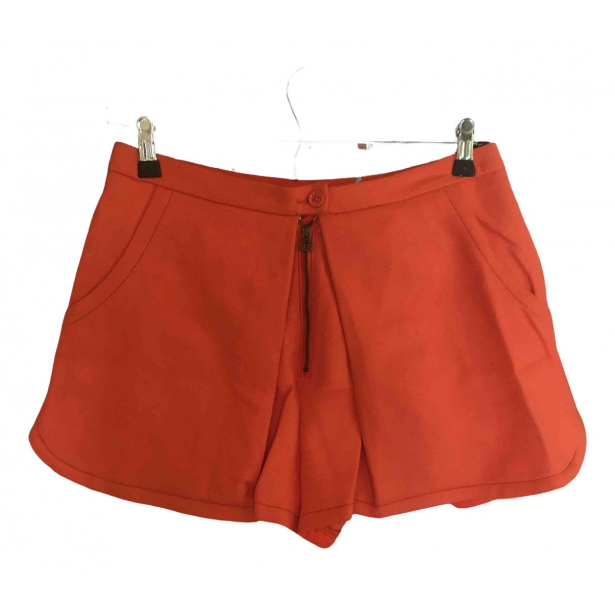 See By Chloe \N Shorts in  Orange Wolle