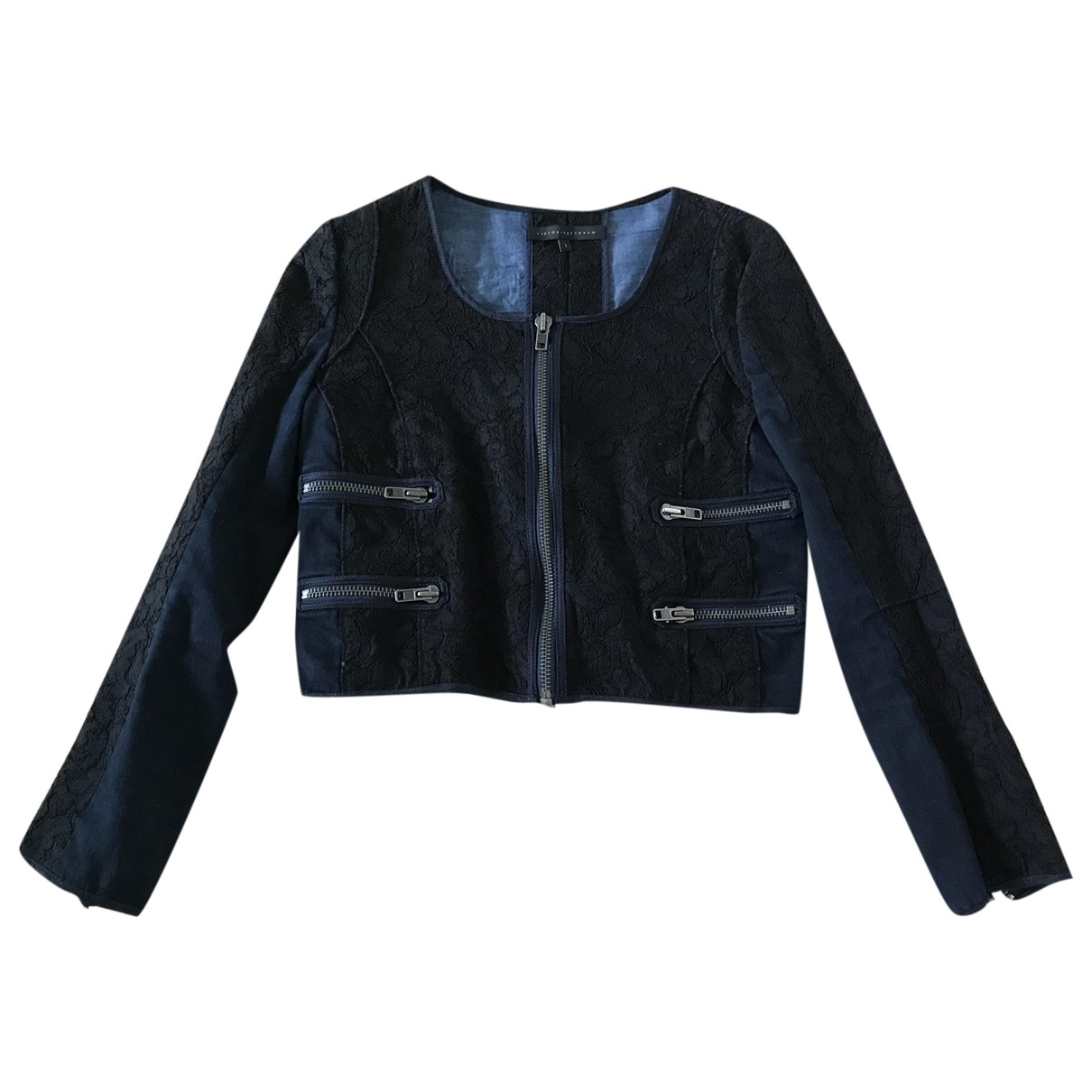 Victoria Beckham \N Jacke in  Blau Denim - Jeans