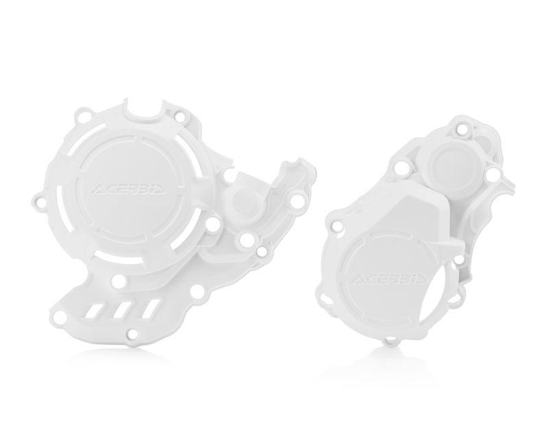 Acerbis 2731970002 X-Power Case Saver Kit White Husqvarna FE250 17-19