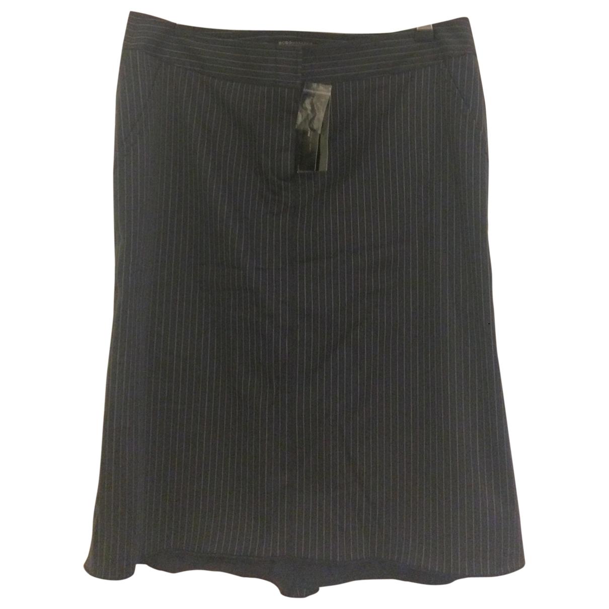 Bcbg Max Azria - Jupe   pour femme en coton - marine