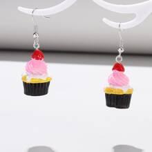 Cupcake Drop Earrings