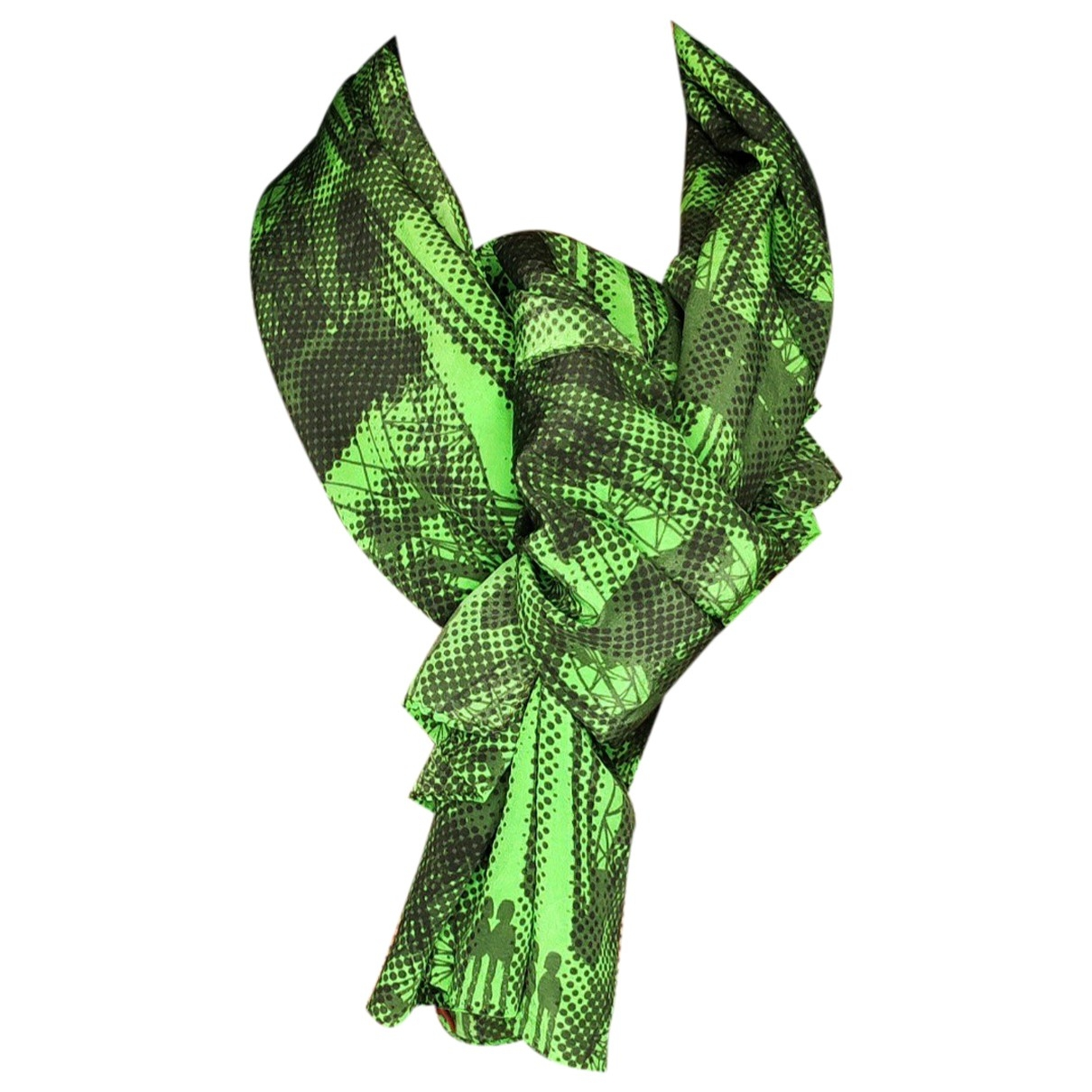 Missoni \N Green Silk scarf for Women \N