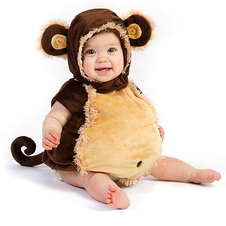 Mischevious Monkey Infant Costume Boys Costume, 12-24 Months , Brown