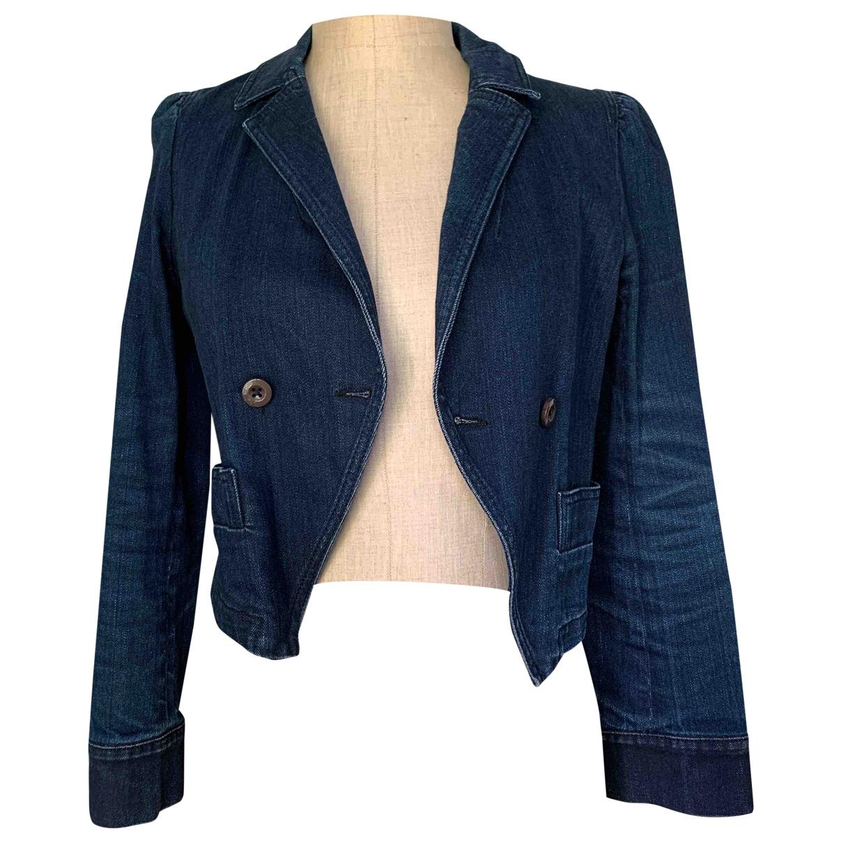 Marc By Marc Jacobs - Veste   pour femme en coton - bleu