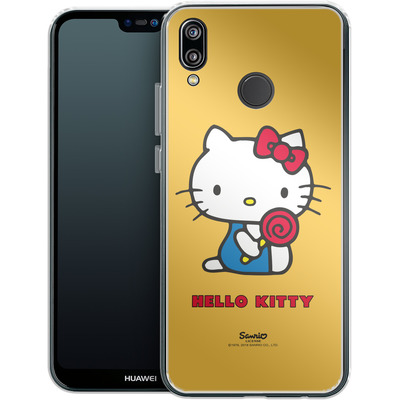 Huawei P20 Lite Silikon Handyhuelle - Hello Kitty Lollipop von Hello Kitty