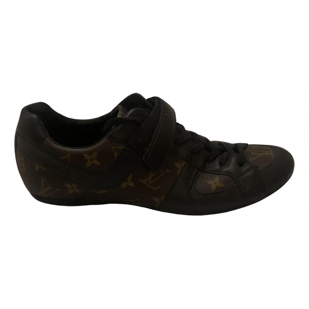 Louis Vuitton \N Brown Cloth Trainers for Men 8.5 UK