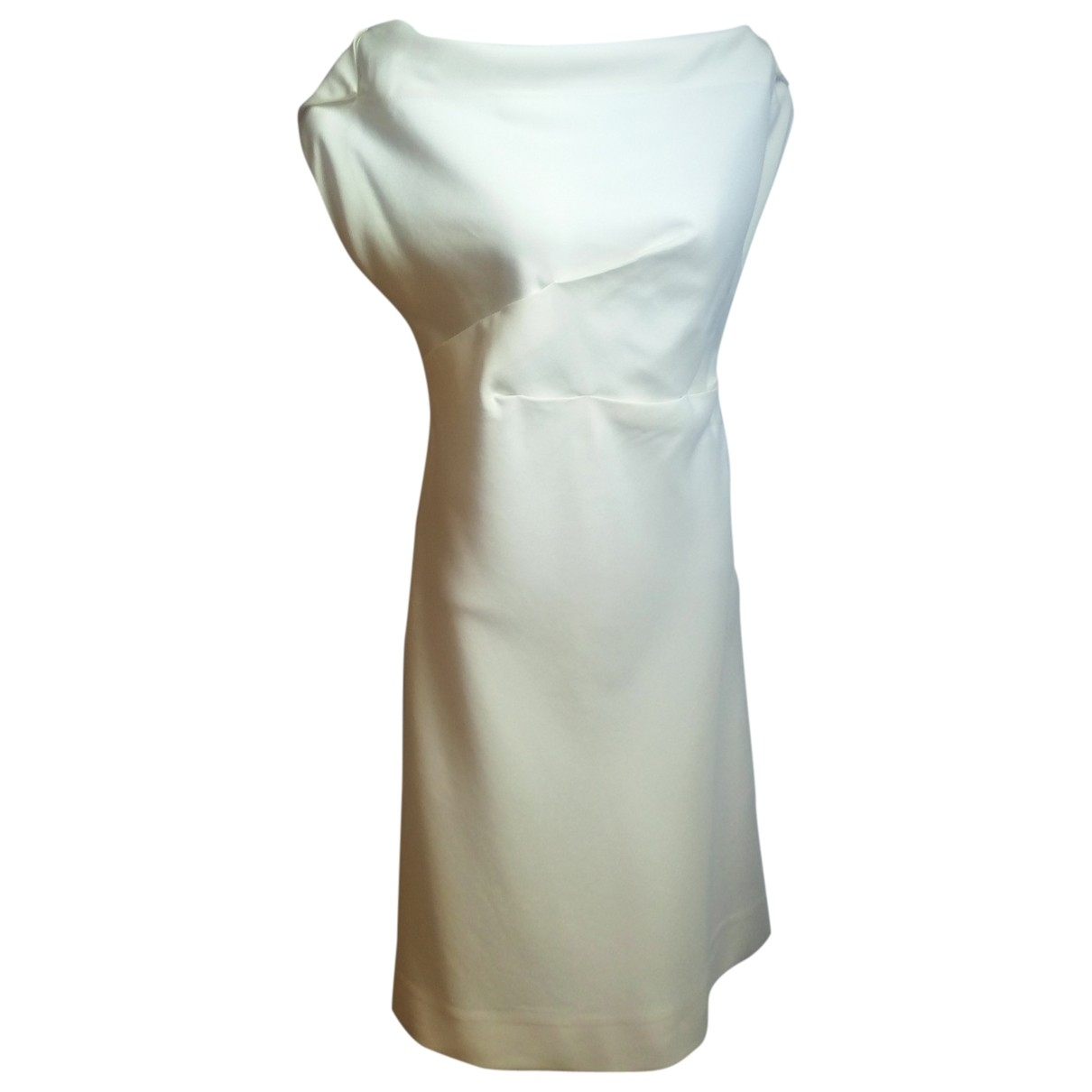 Margaret Howell \N Beige Cotton dress for Women 44 IT