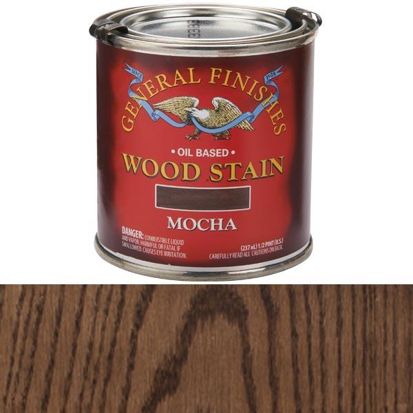 Mocha Oil Stain 1/2 Pt