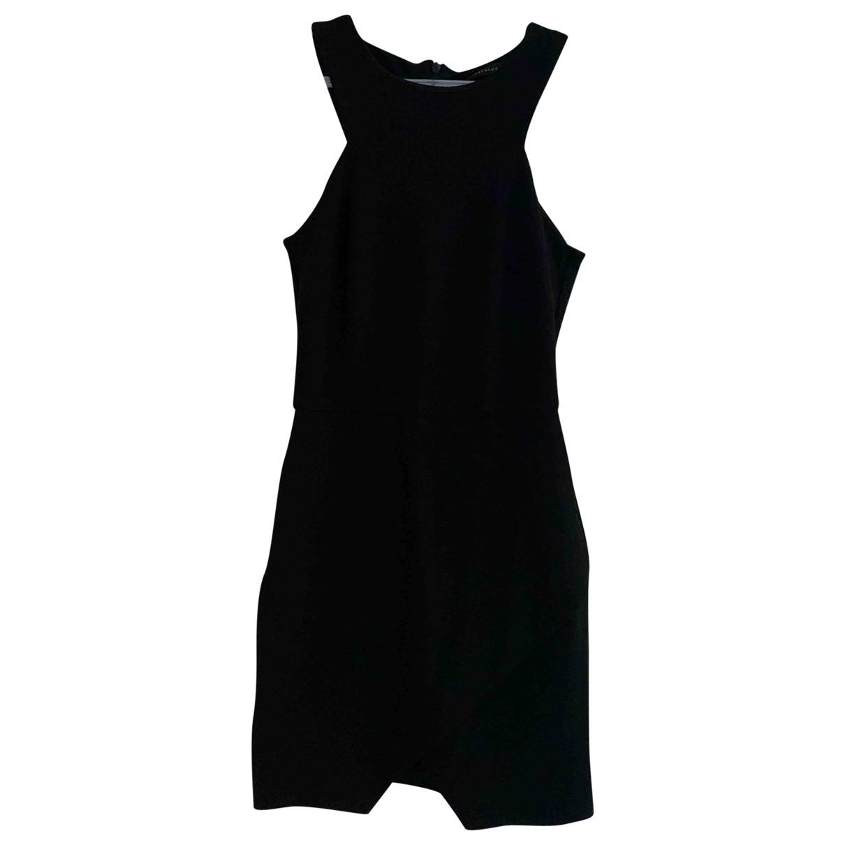 Zara N Black Cotton dress for Women S International