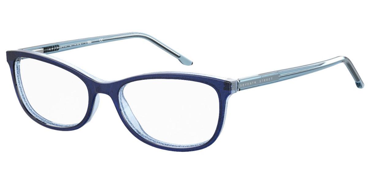 Seventh Street S305 6RL Men's Glasses Blue Size 51 - Free Lenses - HSA/FSA Insurance - Blue Light Block Available