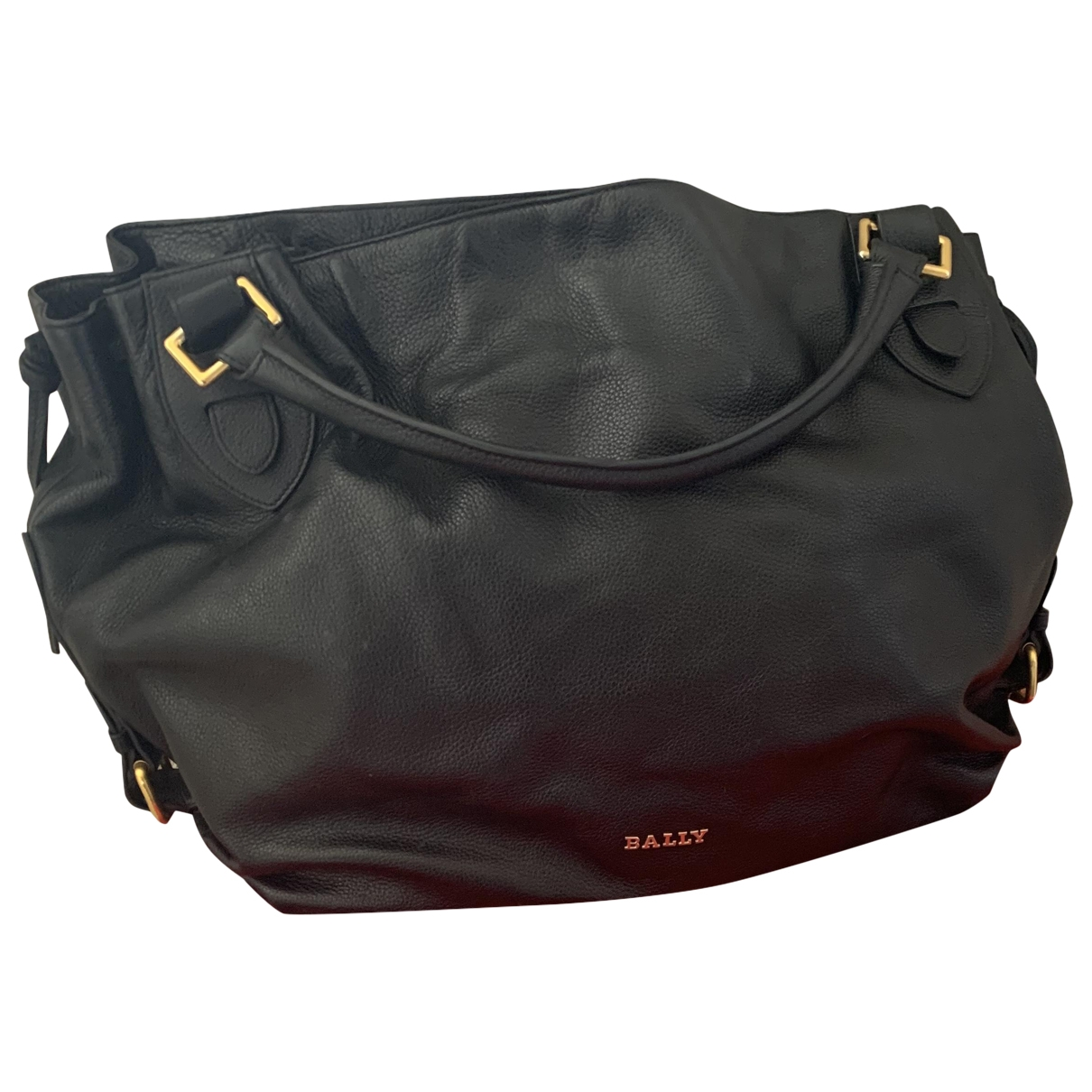 Bally - Sac a main   pour femme en cuir - noir