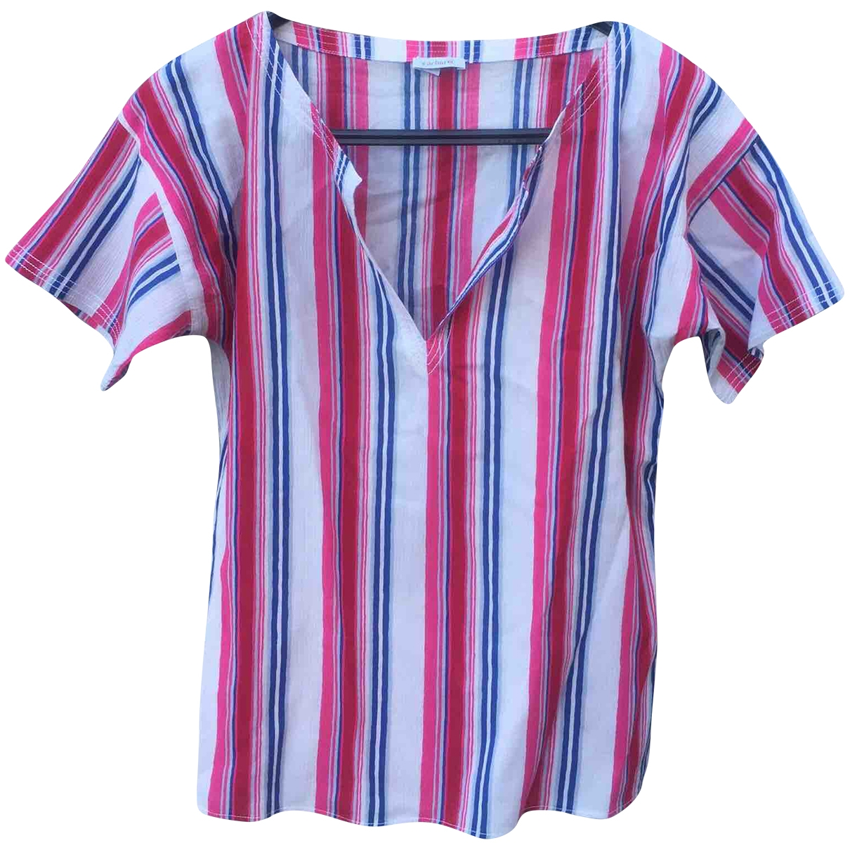 Cacharel \N Multicolour Cotton  top for Women 36 FR