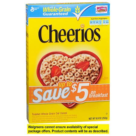 Cheerios Cereal - 8.9 oz