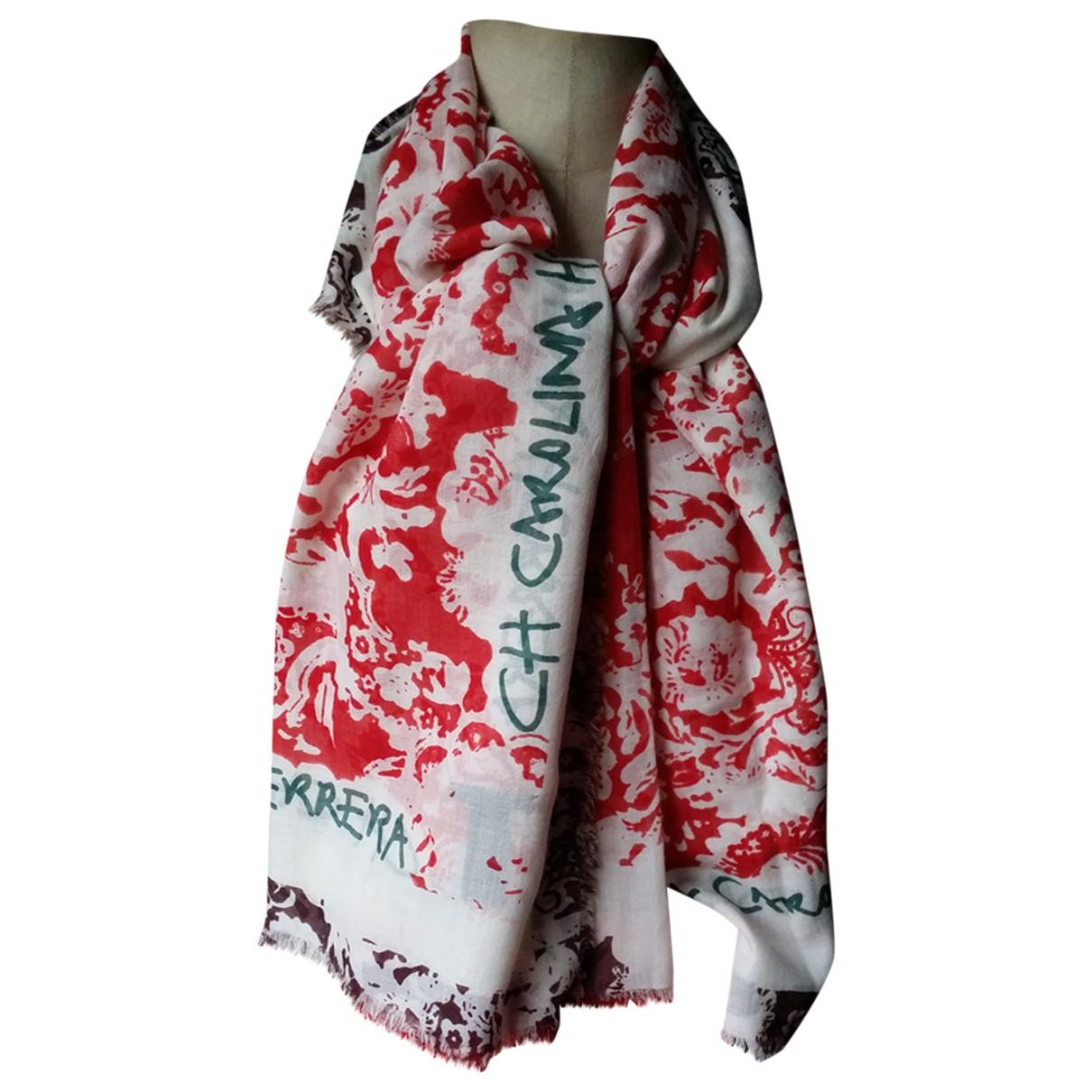 Carolina Herrera - Foulard   pour femme en cachemire - multicolore
