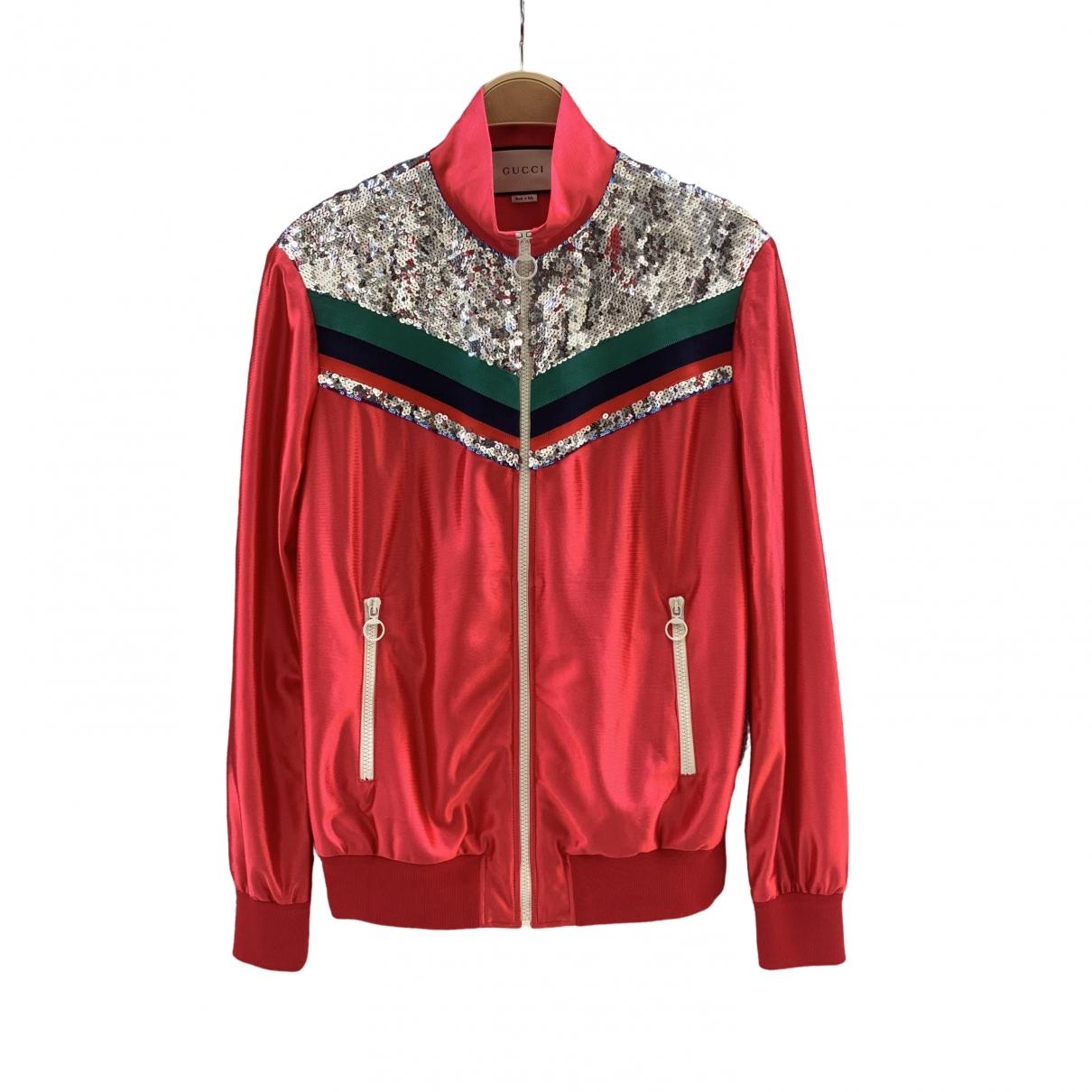 Gucci - Veste   pour femme - rouge