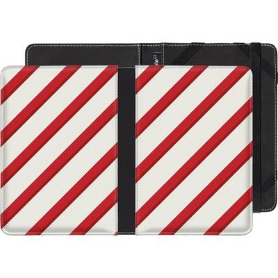 Kobo eReader Touch eBook Reader Huelle - Candy Cane von caseable Specials