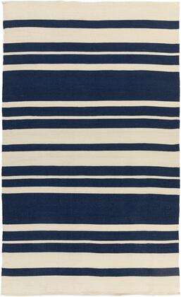 Picnic PIC-4007 5' x 8' Rectangle Modern Rug in Navy