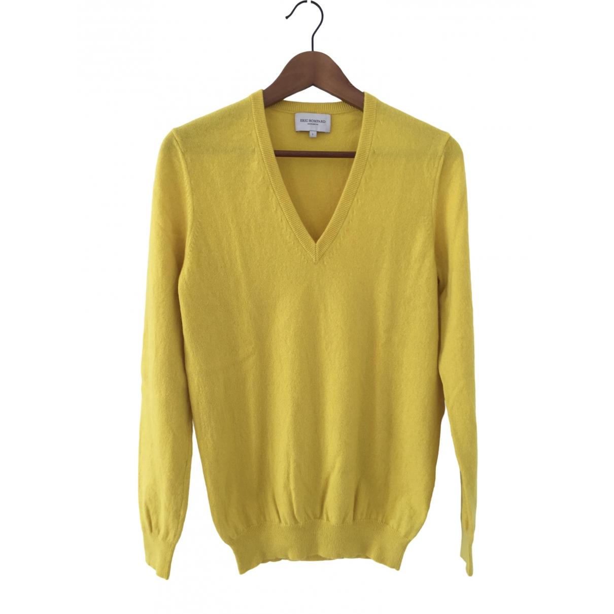 Eric Bompard - Pull   pour femme en cachemire - jaune