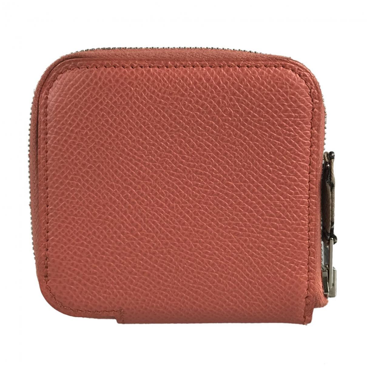 Hermès \N Pink Leather Purses, wallet & cases for Women \N