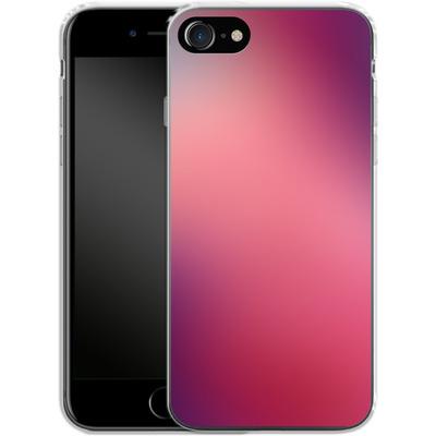 Apple iPhone 7 Silikon Handyhuelle - Coral Swirl von #basic