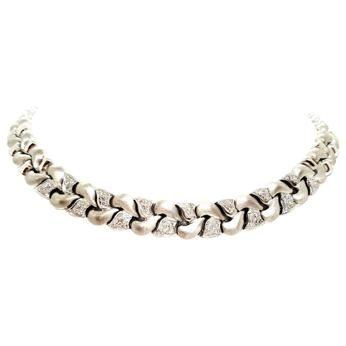 Collar de Oro blanco Autre Marque