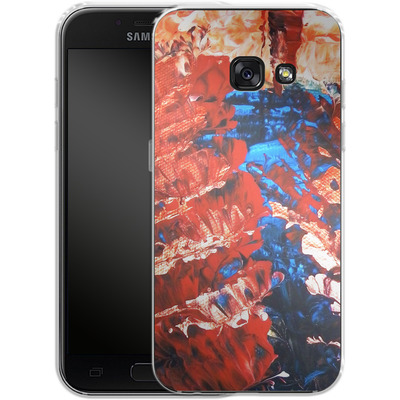 Samsung Galaxy A3 (2017) Silikon Handyhuelle - Macro 11 von Gela Behrmann