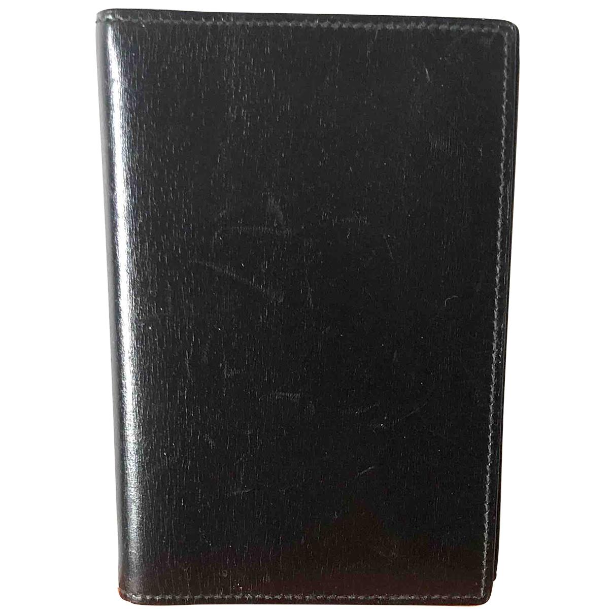 Hermes - Petite maroquinerie   pour homme en cuir - noir