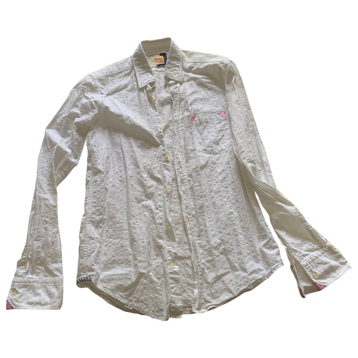 Boss Orange \N Hemden in  Weiss Baumwolle