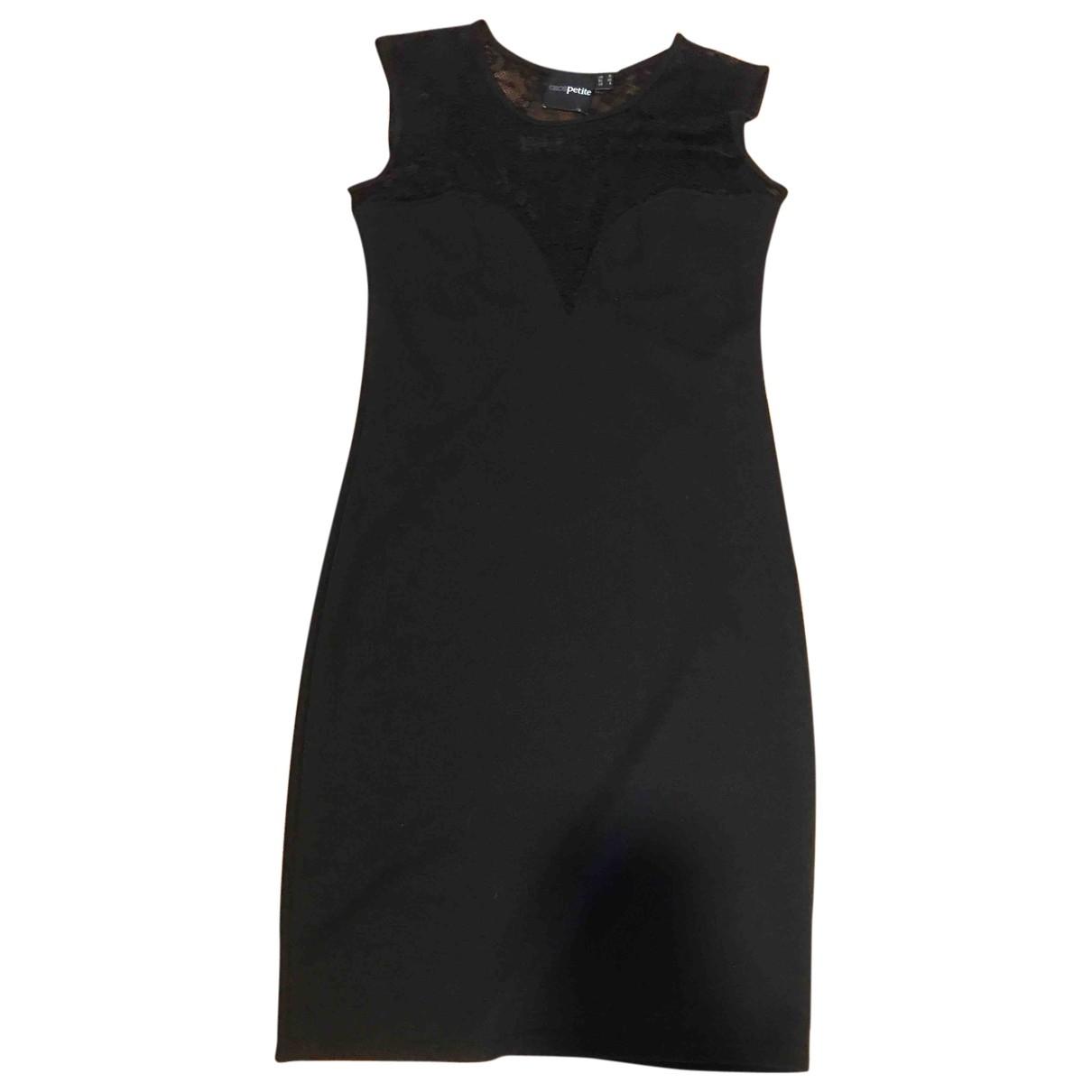 Asos - Robe   pour femme en coton - noir