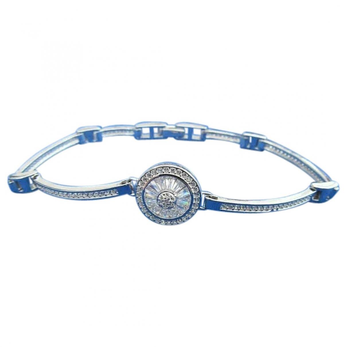- Bracelet   pour femme en argent - blanc