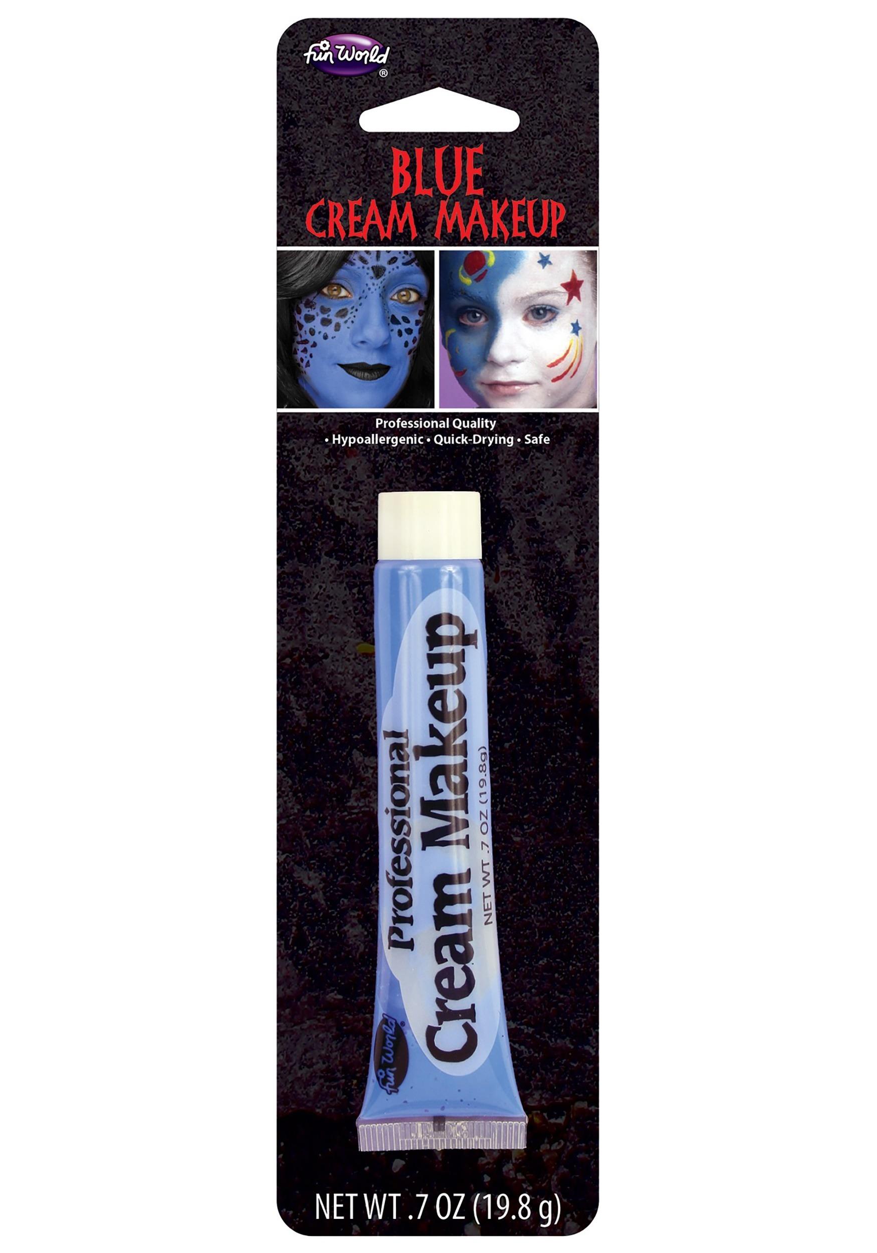 Fun World Blue Professional Cream Makeup