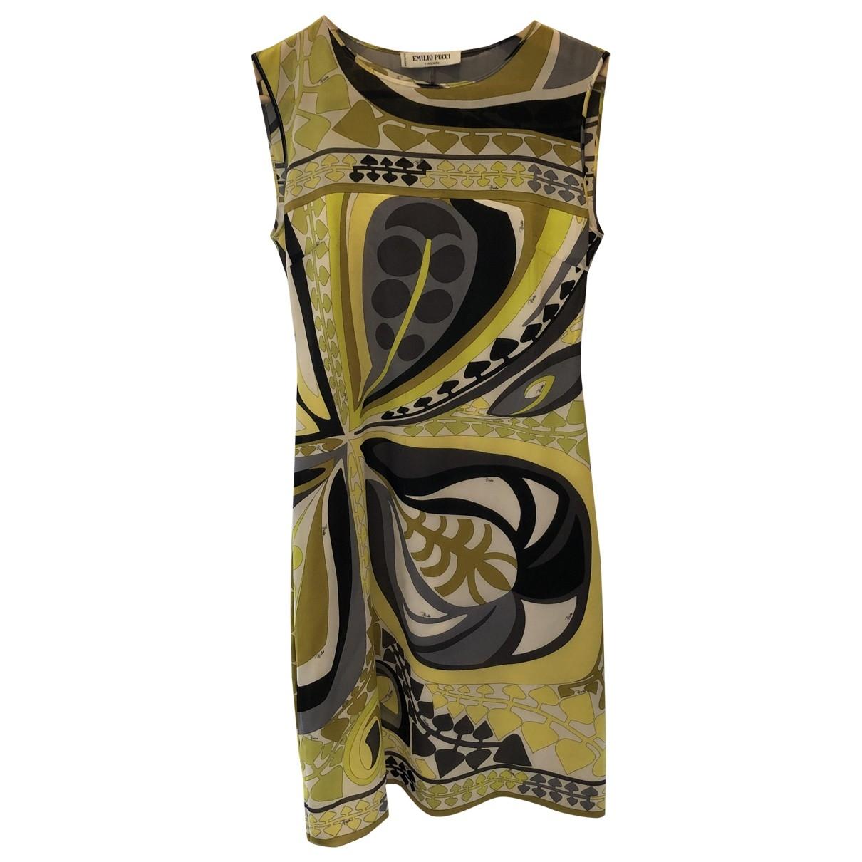 Mini vestido de Seda Emilio Pucci
