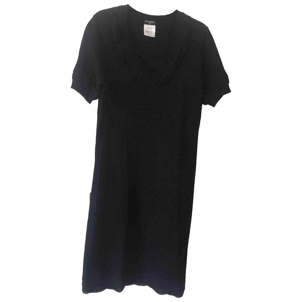 Chanel \N Cotton - elasthane dress for Women 40 FR