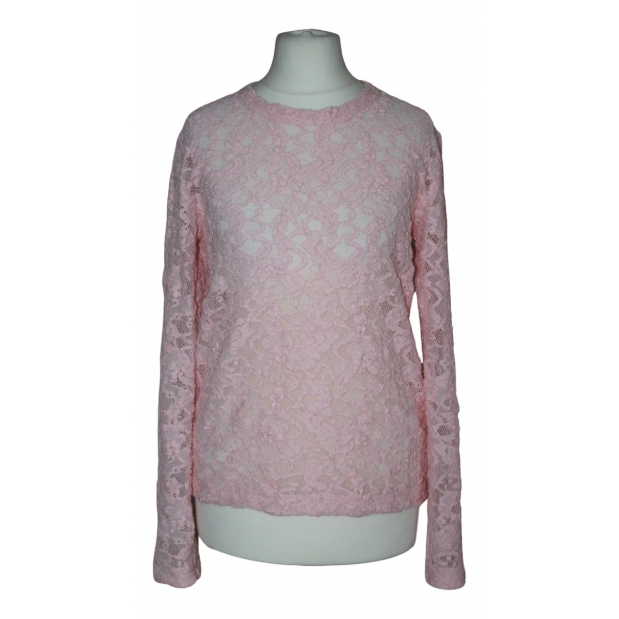 Comme Des Garcons \N Pink Lace  top for Women S International