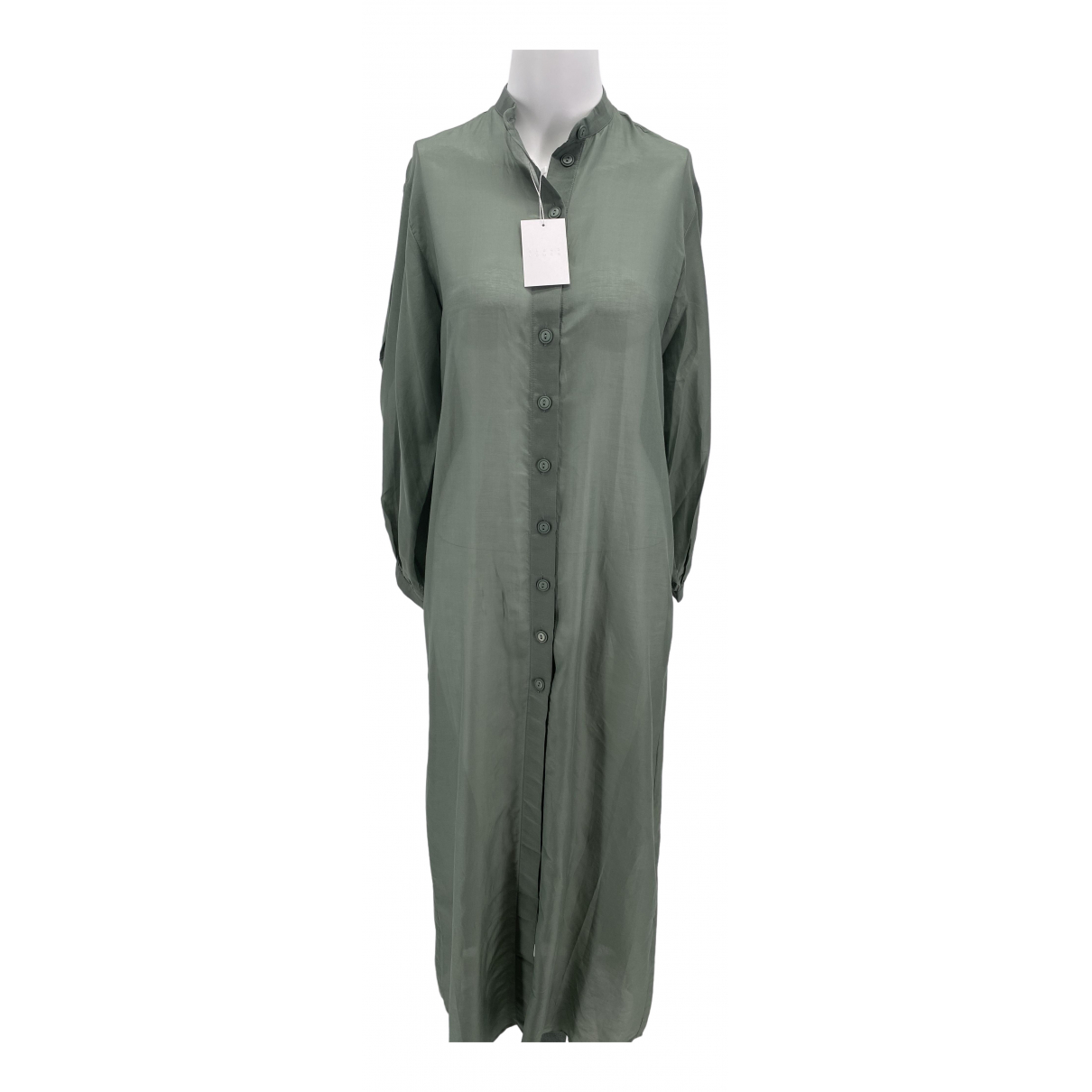 Albus Lumen \N Khaki Silk dress for Women XS International