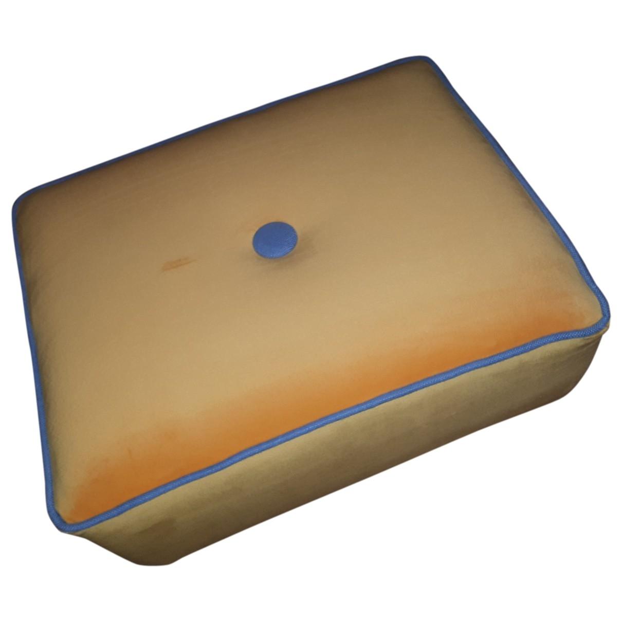 - Objets & Deco   pour lifestyle en velours - jaune