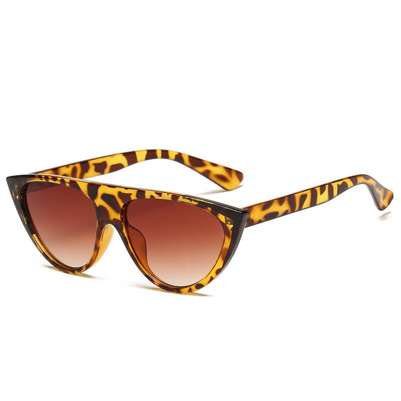 Women Fashion Cat Eye Sunglasses Outdoor UV Eyeglasses Thin High Definition View Sunglasses