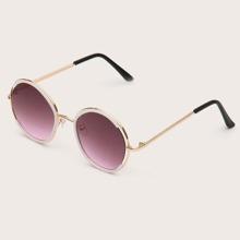 Kids Round Frame Sunglasses