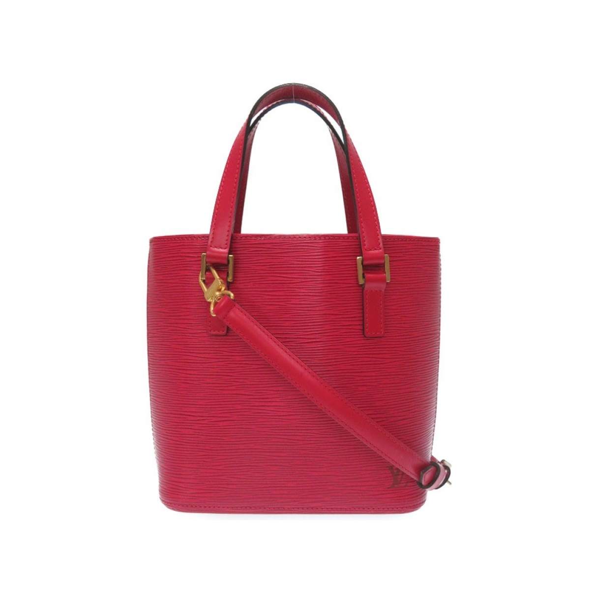 Louis Vuitton Vavin Red Leather handbag for Women \N