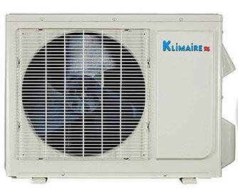 KSIO024H218OC Light Commercial Series Single Zone Outdoor Heat Pump Unit with 24 000 Btu/h Cooling/Heating Capacity  R410A Refrigerant  61 dB(A)