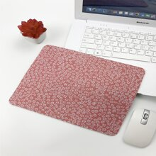 Flower Print Mouse Pad