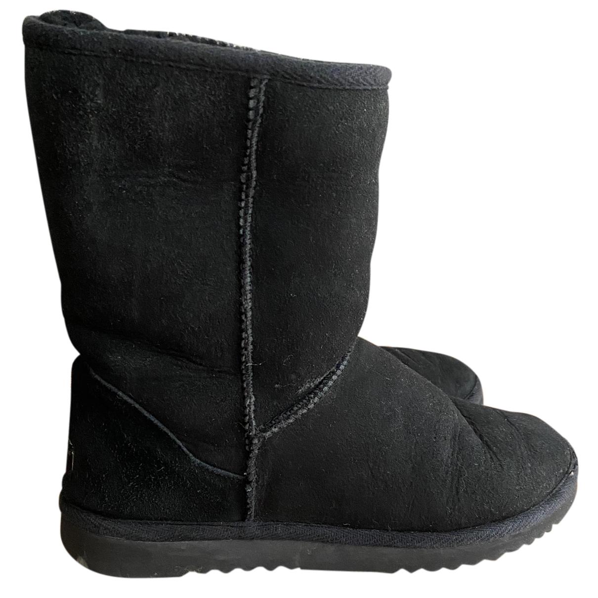 Ugg N Black Shearling Boots for Women 39 EU