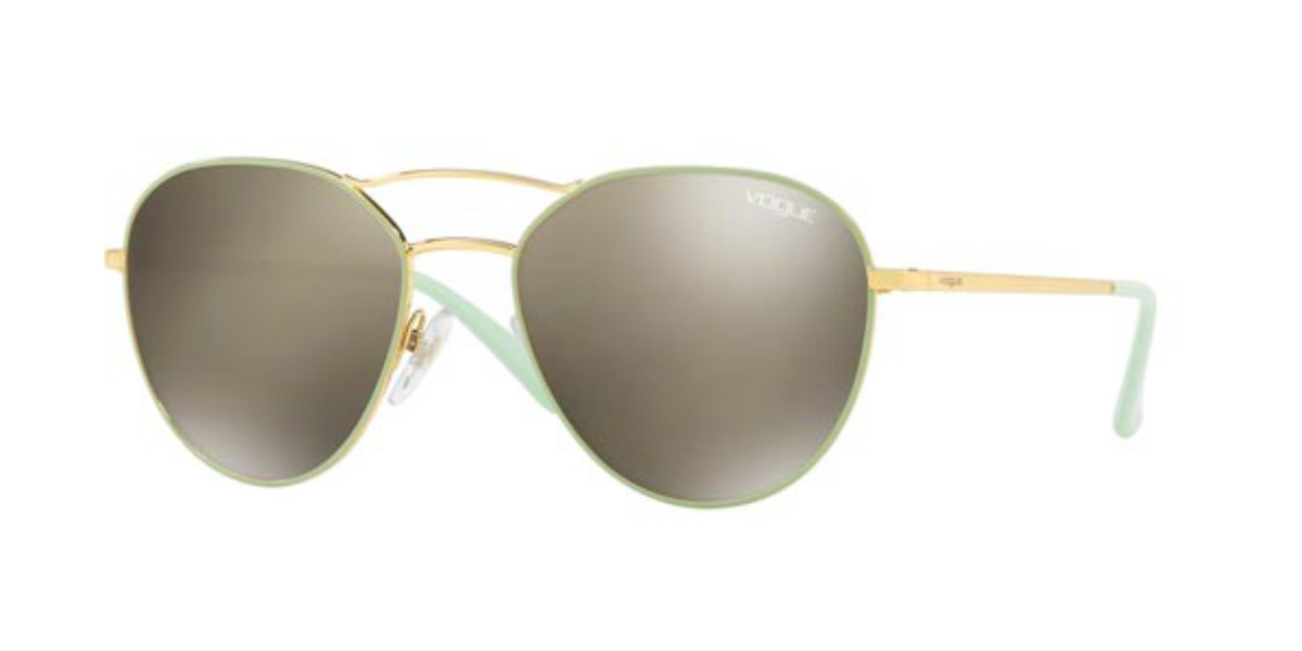 Vogue Eyewear VO4060S Outline 50655A Women's Sunglasses Gold Size 54