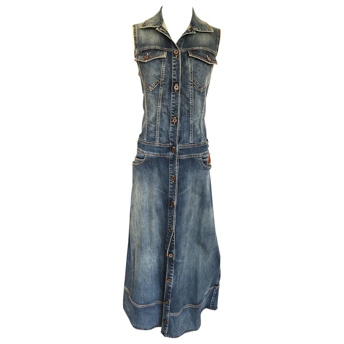 Just Cavalli \N Kleid in  Blau Denim - Jeans