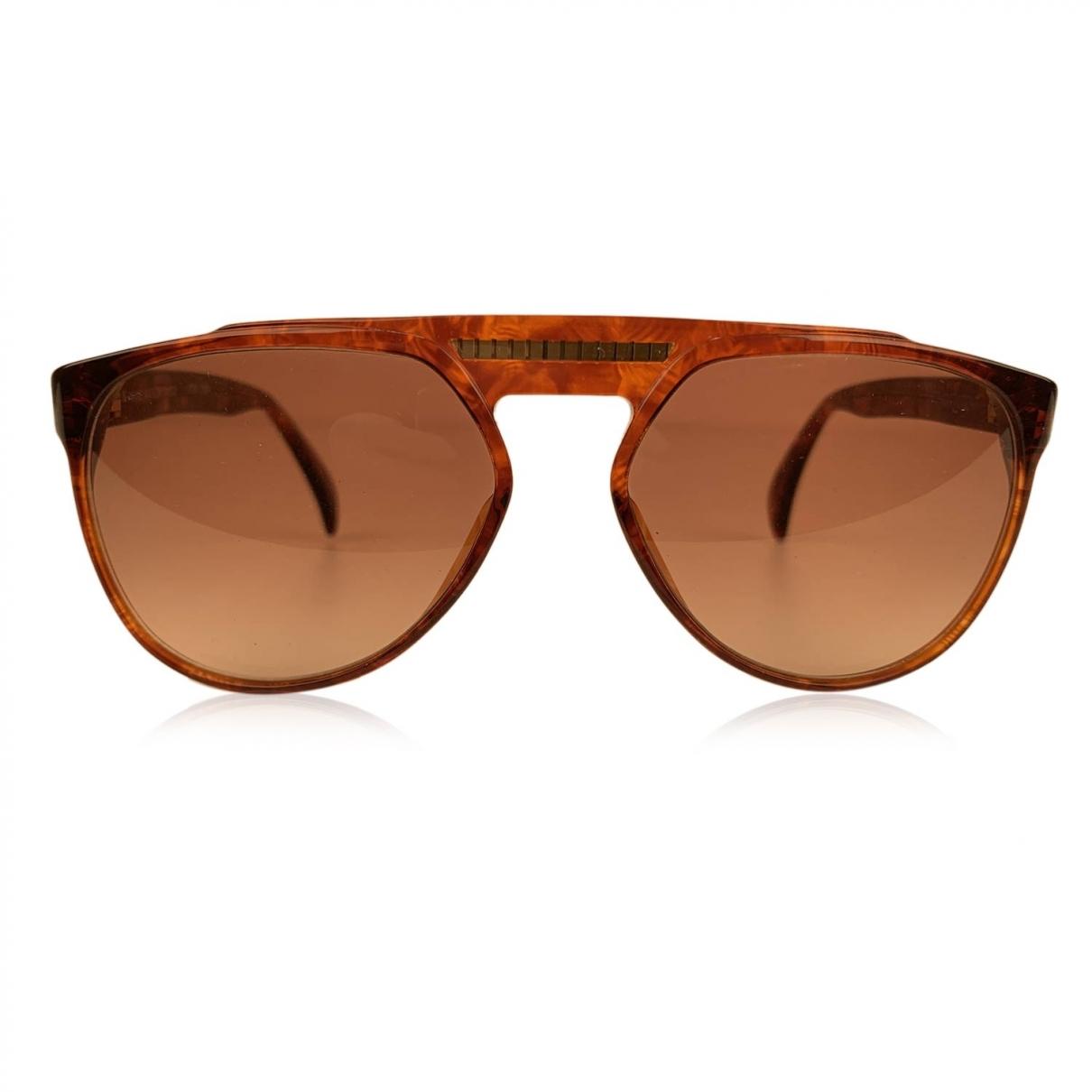 Yves Saint Laurent \N Brown Sunglasses for Women \N