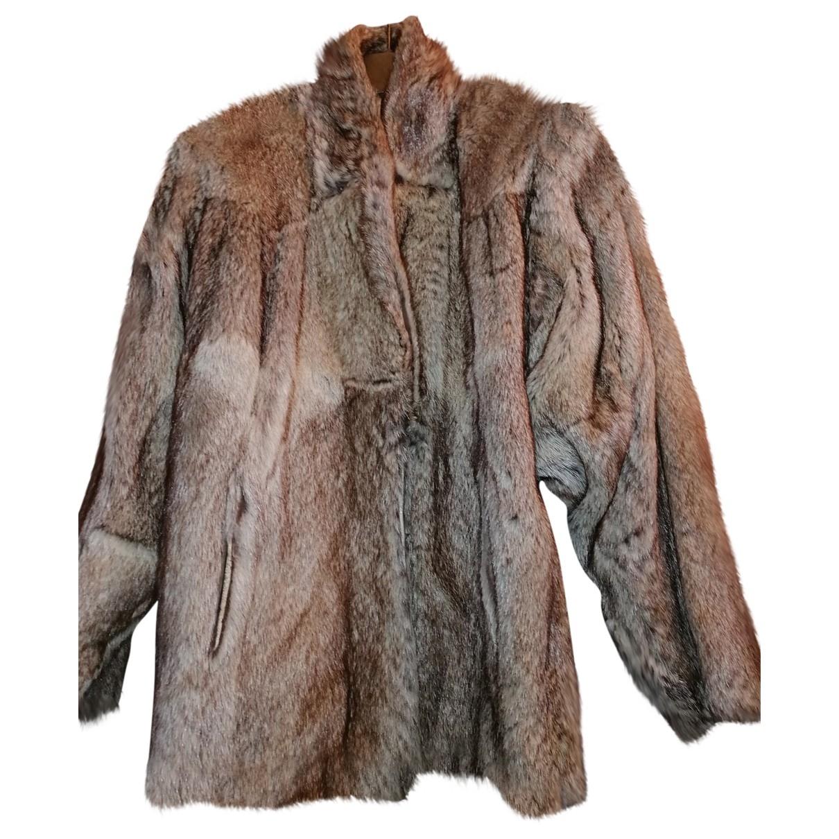 - Veste Oversize pour femme en vison - dore