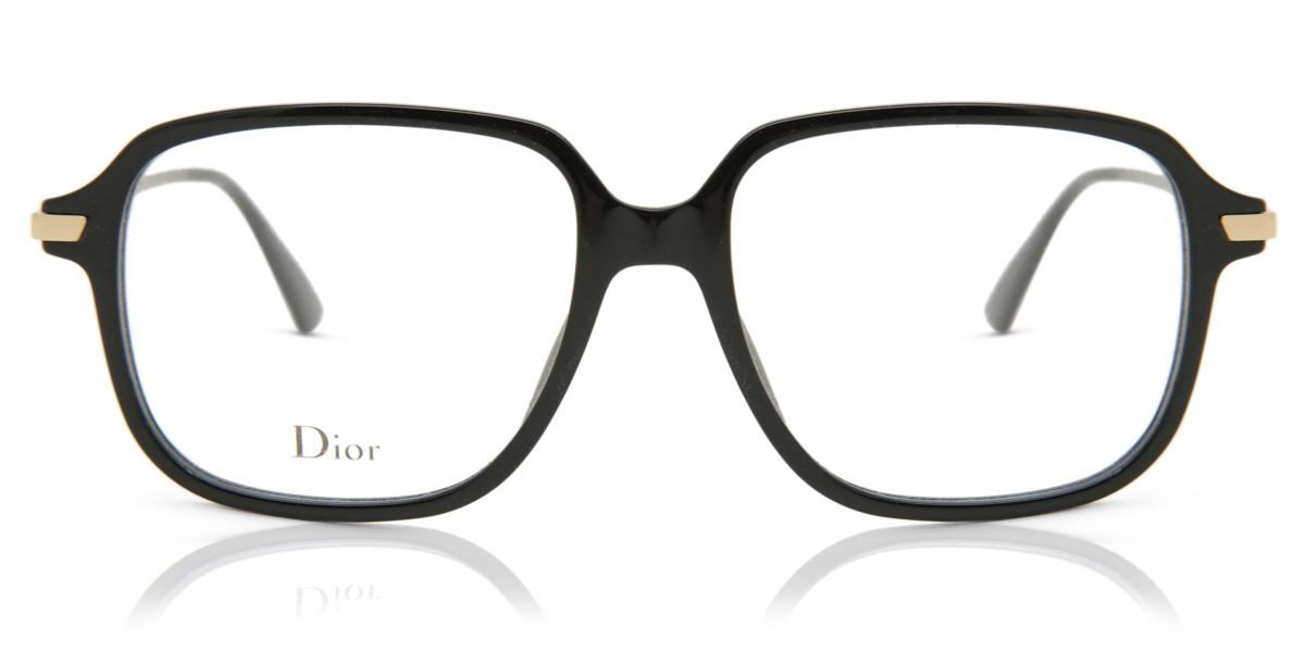 Dior DIOR ESSENCE 19 807 Women's Glasses Black Size 53 - Free Lenses - HSA/FSA Insurance - Blue Light Block Available