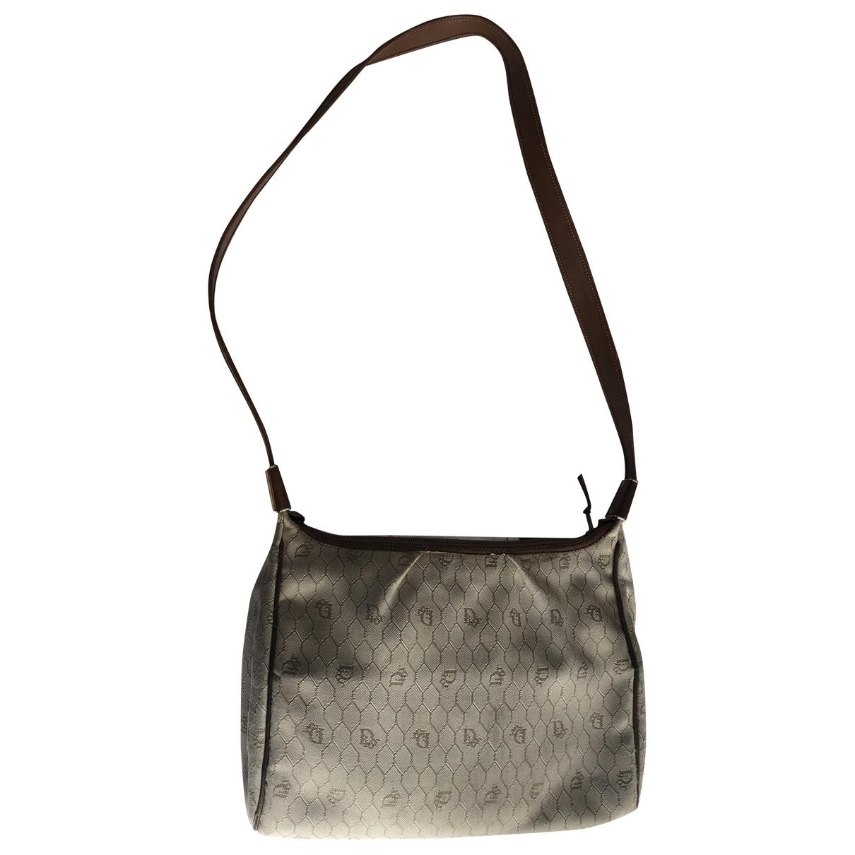 Dior \N Handtasche in  Beige Leinen