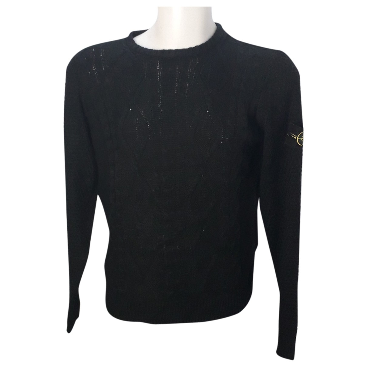 Stone Island \N Black Wool Knitwear & Sweatshirts for Men M International