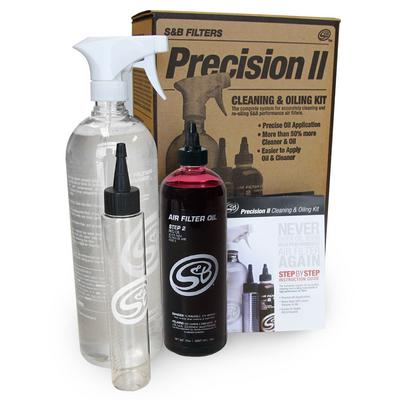 S&B Filters Precision II Cleaning and Oil Kit (Red Oil) - 88-0008